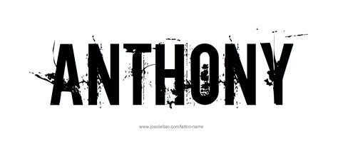 tattoo name anthony call me anthony sam s online journal