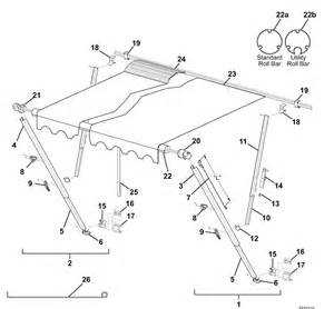 Carefree Of Colorado Replacement Awnings A E 8500 Awning Parts Diagram Pictures To Pin On Pinterest
