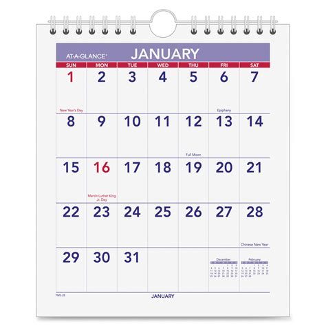 small photo desk calendar discount aagpm528 at a glance pm528 at a glance mini wall