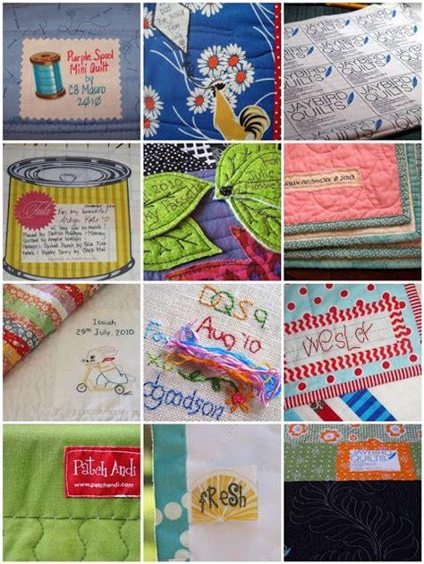 Quilt Label Exles by 17 Best Images About Quilt Labels On Quilt