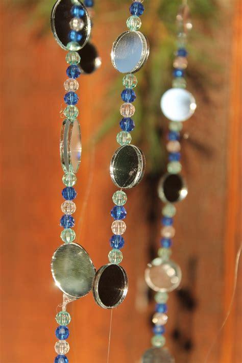 Drape Tape Sukkah Decoration Tutorial Hanging Bead Amp Mirror Chains