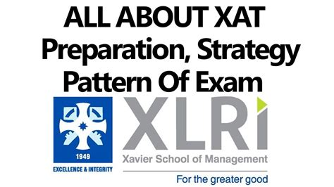pattern of xat exam all about xat preparation strategy no of attempts