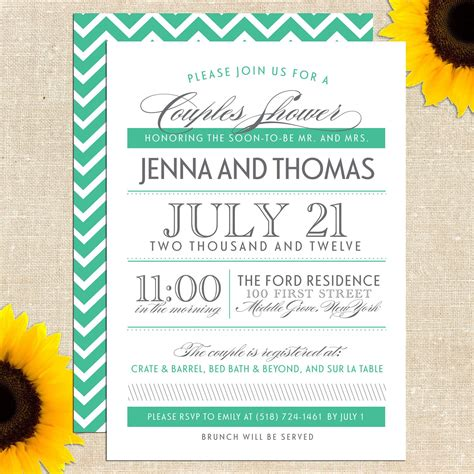 couples wedding shower invitation poems sayings for couples shower invitations