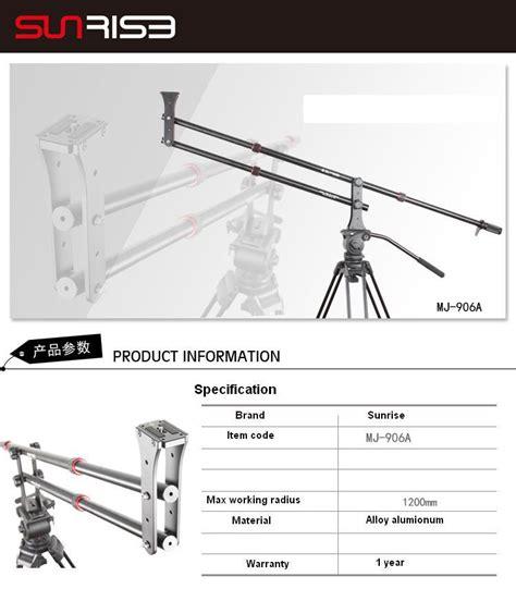 Jimmy Jib Crane Jib Porta Jib Ukuran 3 Meter Semut Diy small portable dslr mini jib crane arm crane