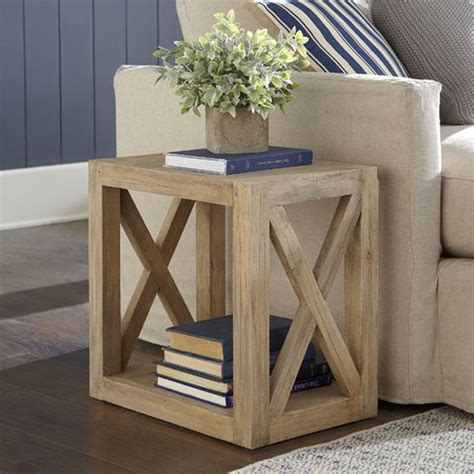 remodelaholic diy planked  farmhouse side table  building plan