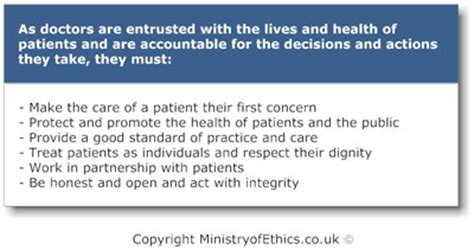 duties of a doctor gmc what is the gmc ministry of ethics co uk