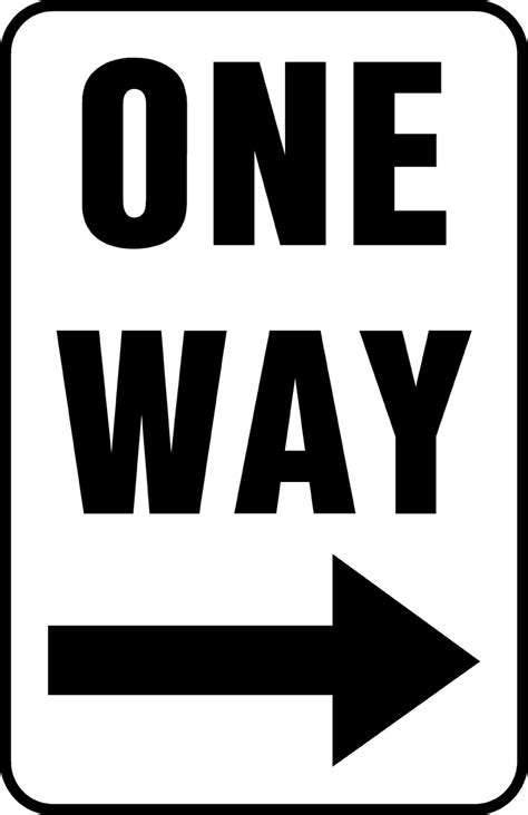 printable one way road sign road sign 117 objects printable coloring pages