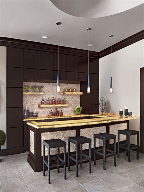 18 dazzling contemporary home bar designs you can t