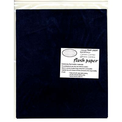How To Make Flash Paper At Home - flash paper five pack 25x20cm black trick