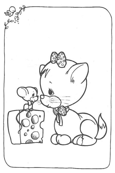 coloring pages of precious moments animals precious moments animals
