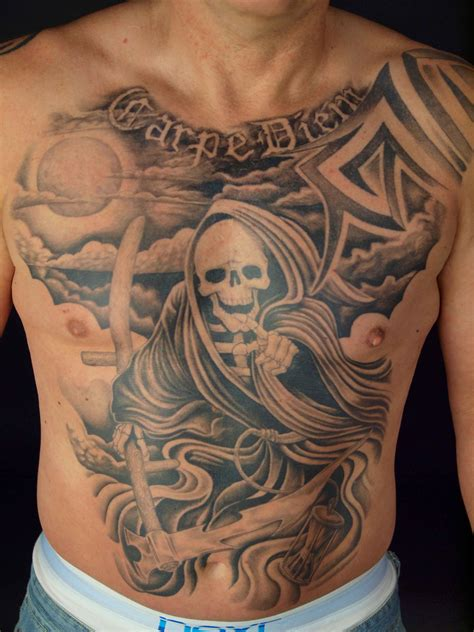 full body grim reaper tattoo 11 reaper tattoo images pictures and design ideas
