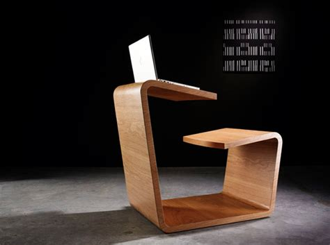 Office Room Interior Design by Solitaire Wooden Table Design With Multifunctional Furniture