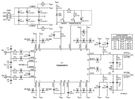 transistor lifier class d 200 watts lifier circuit electronic project using tda8920bth