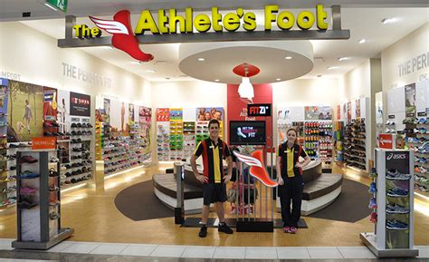 athletes shoe store the athletes foot grows with erply