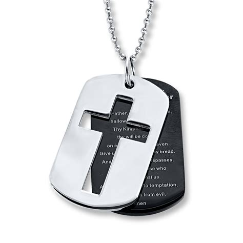 stainless steel tags lord s prayer tags stainless steel