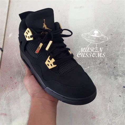 shoes jordans black and gold black jordans wheretoget