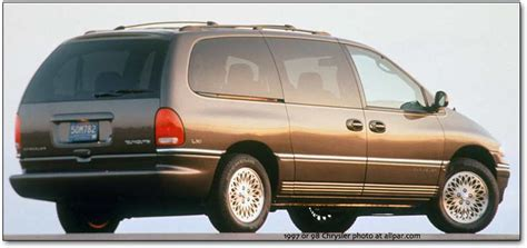 97 Chrysler Town And Country by 1996 2000 Chrysler Plymouth And Dodge Minivans Caravan