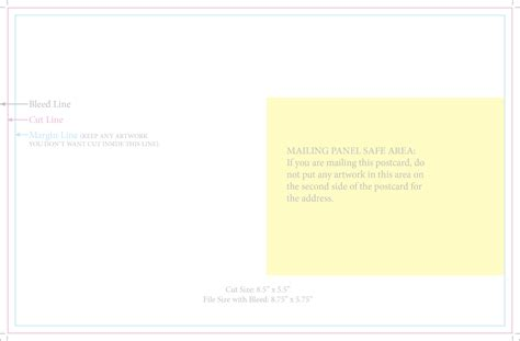 template indesign postcard business card templates indesign business card sle