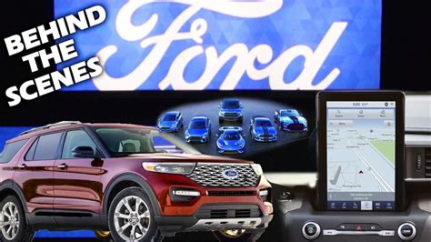 Ford Unveils The New 2020 Explorer by Ford Unveils New 2020 Explorer With 10 1 Quot Display