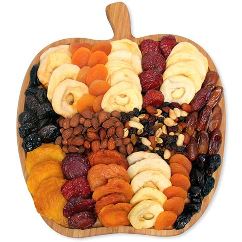 fruit and nut baskets dried fruit and nut platter by gourmetgiftbaskets