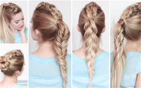 easy everyday hairstyles for school simple hairstylesforall