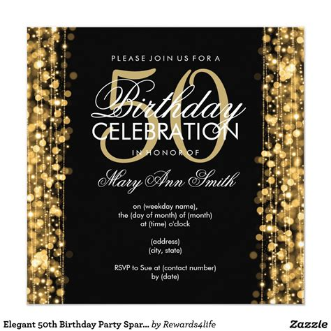 invitation sles for 50th birthday 14 50 birthday invitations designs free sle templates birthday invitations templates
