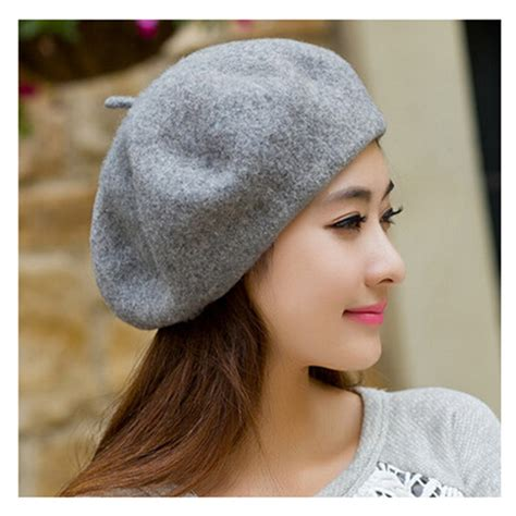 wool beret hat fashion winter hats for