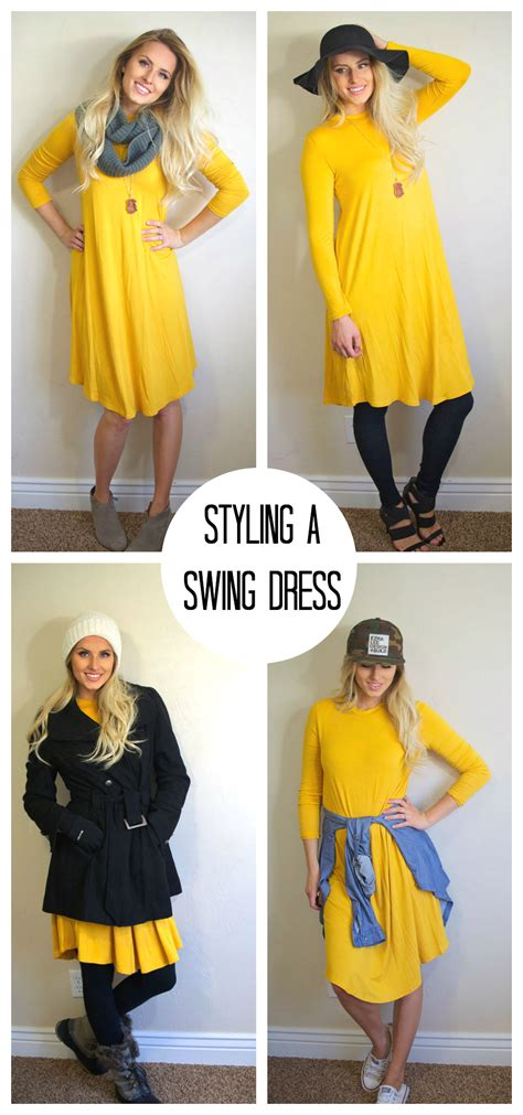 How To Style A Swing Dress