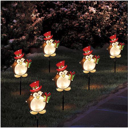 westinghouse mini solar holiday christmas garden outdoor pathway light ornament pathway lights decoratingspecial