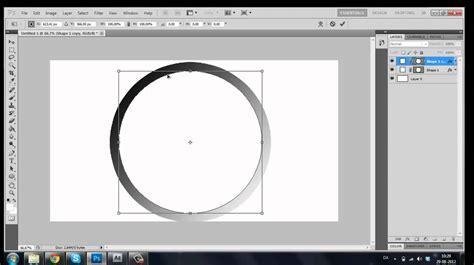 photoshop tutorial round logo photoshop cs5 tutorial how to make realistic ring shape