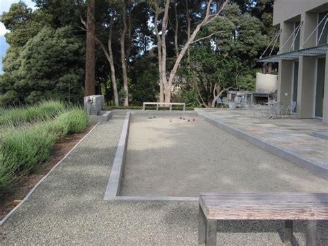 backyard bocce court bocce court bocce ball pinterest