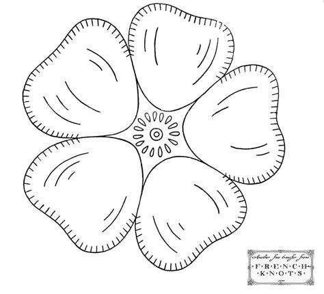Flower Applique Patterns On Pinterest Applique Patterns Flower Applique And Appliques Free Applique Templates