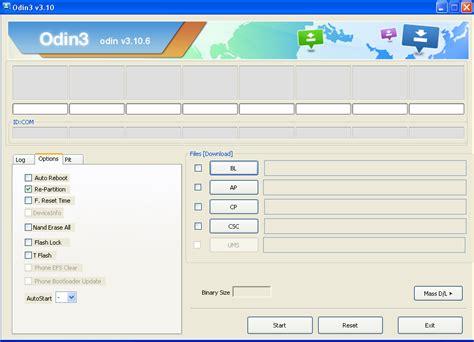 android odin odin 3 10 6 dell ultima versione tool samsung