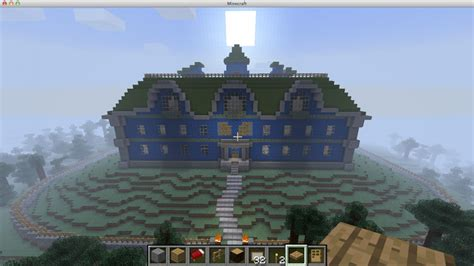 Create Floor Plan For House by Luigi S Mansion Minecraft Project