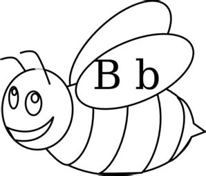 Bumble Bee Outline Clip Art At Clkercom  Vector Online sketch template