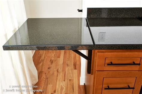 Folding Countertop by A Loft And Kitchen Remodel Powell Construction