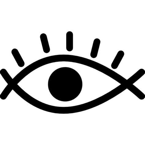 vector gratis ojo ver icono imagen gratis en pixabay ojo variante de esquema con pesta 241 as y la pupila agrandada