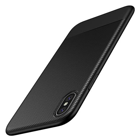 Softcase Carbon Iphone 7 solid protective tpu carbon fiber softcase for iphone