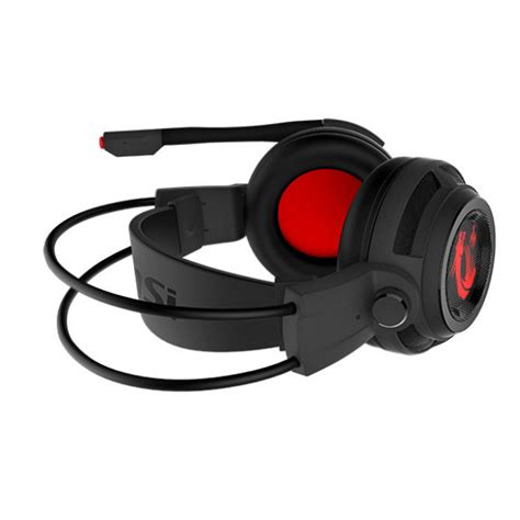 Msi Gaming Headset Ds502 msi ds502 headset gaming 7 1