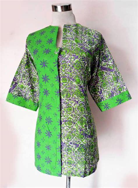 blus batik rinjani mix 02 baju kerja batik