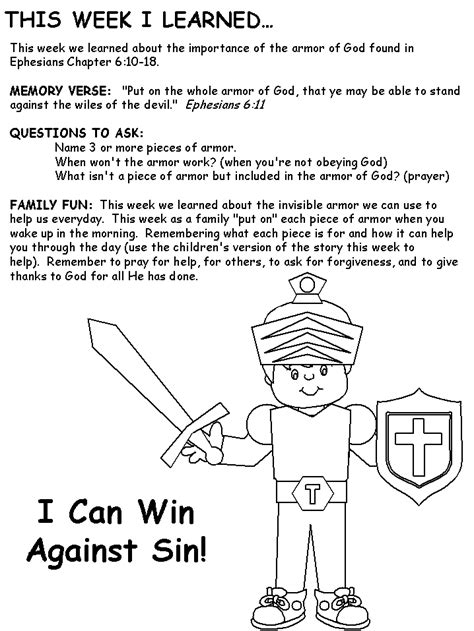 armor of god crafts for armor of god sign for vbs craft table homeschool