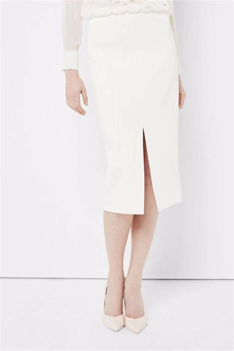Ivory Skirt by Ted Baker Ivory Pencil Skirt From Wallingford By The
