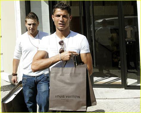 Louis Vuitton Cristiano Ronaldo With His Louis Vuitton Bag by Sized Photo Of Cristiano Ronaldo Louis Vuitton 01
