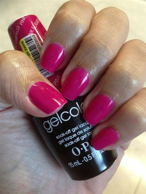 opi hair color opi gelcolor pink flamenco makeup hair nails