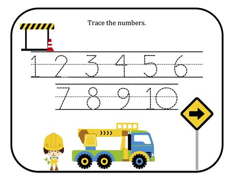 tracing numbers 1 10 free printable tracing numbers 1 10 free printable loving printable