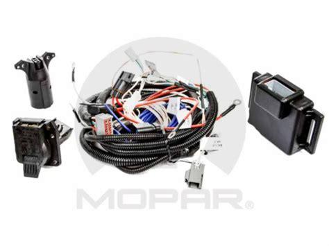 trailer tow wiring harness mopar 82212521ae