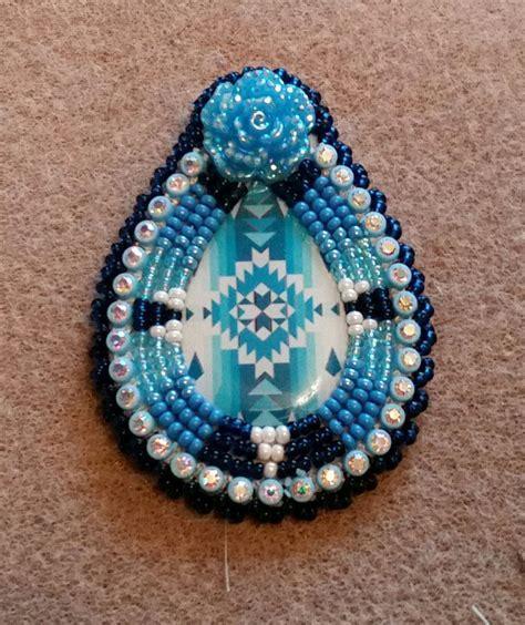 beadwork earrings beaded earrings featuring a pear shaped