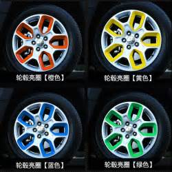 colored rims aliexpress buy car styling for jeep renegade