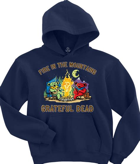 Hoodie The Dealdo Merch grateful dead t shirts tees tie dyes accessories and gifts liquid blue