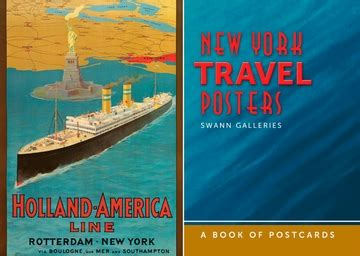 new york travel posters book of postcards
